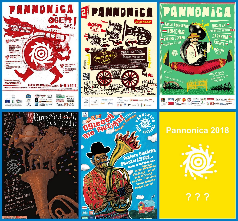 plakaty Pannonica kolaż 6 szt